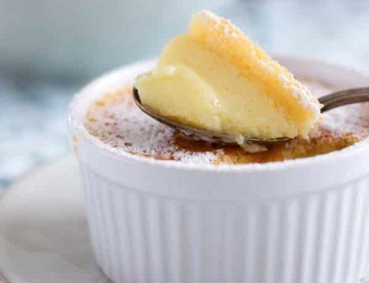 Zitronen-Pudding-Kuchen
