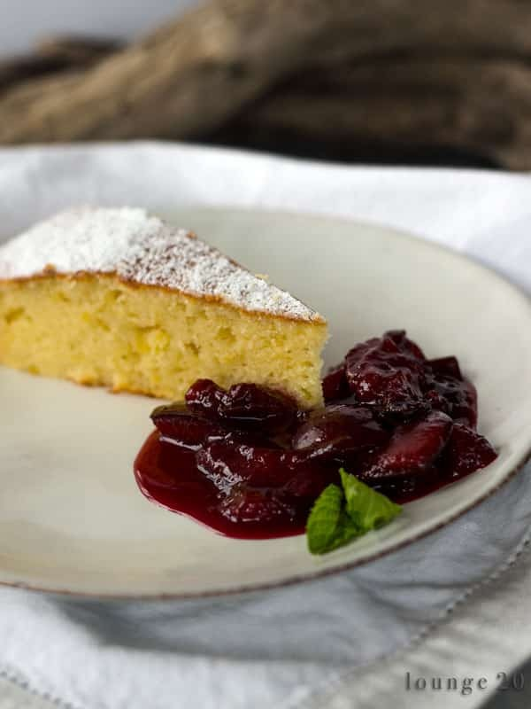 Ricotta-Limetten-Kuchen