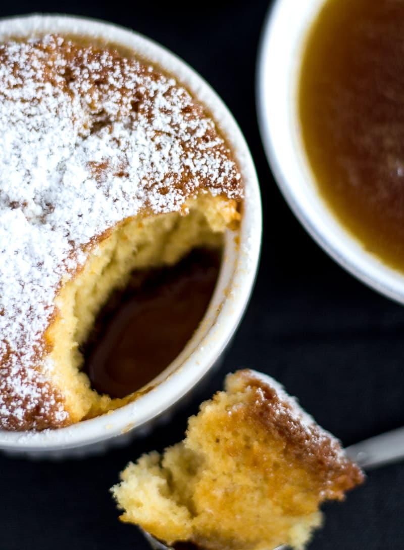 Puddingkuchen mit gesalzenem Karamell - Salted caramel pudding