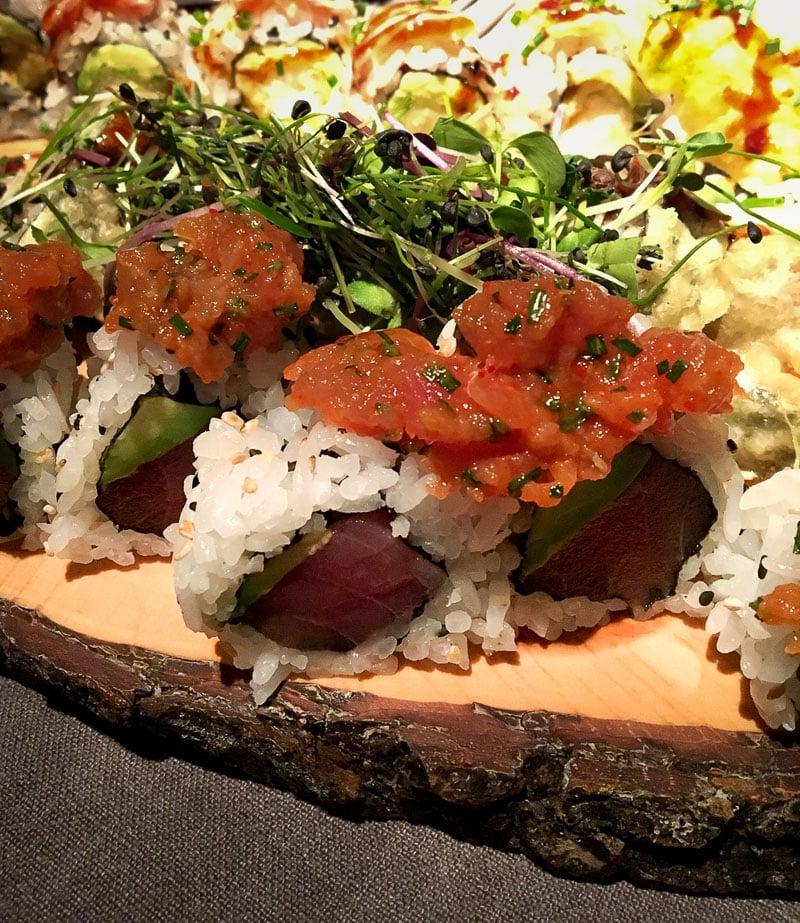 Sushi im Lucy Wang