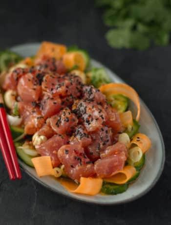 Pikante Thunfisch Bowl - Lounge20.com