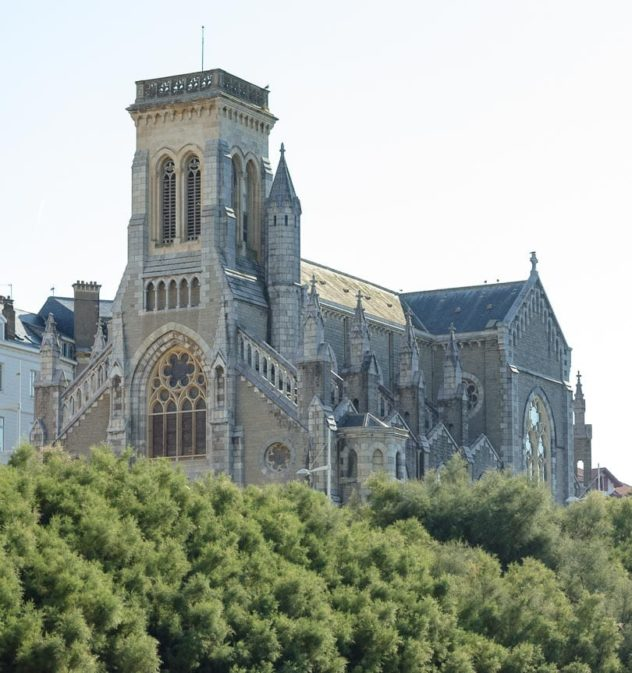 Kirche in Biarritz, Frankreich