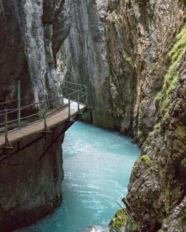 Lounge 20 - Leutascher Geisterklamm, Ausflugsziel in Tirol