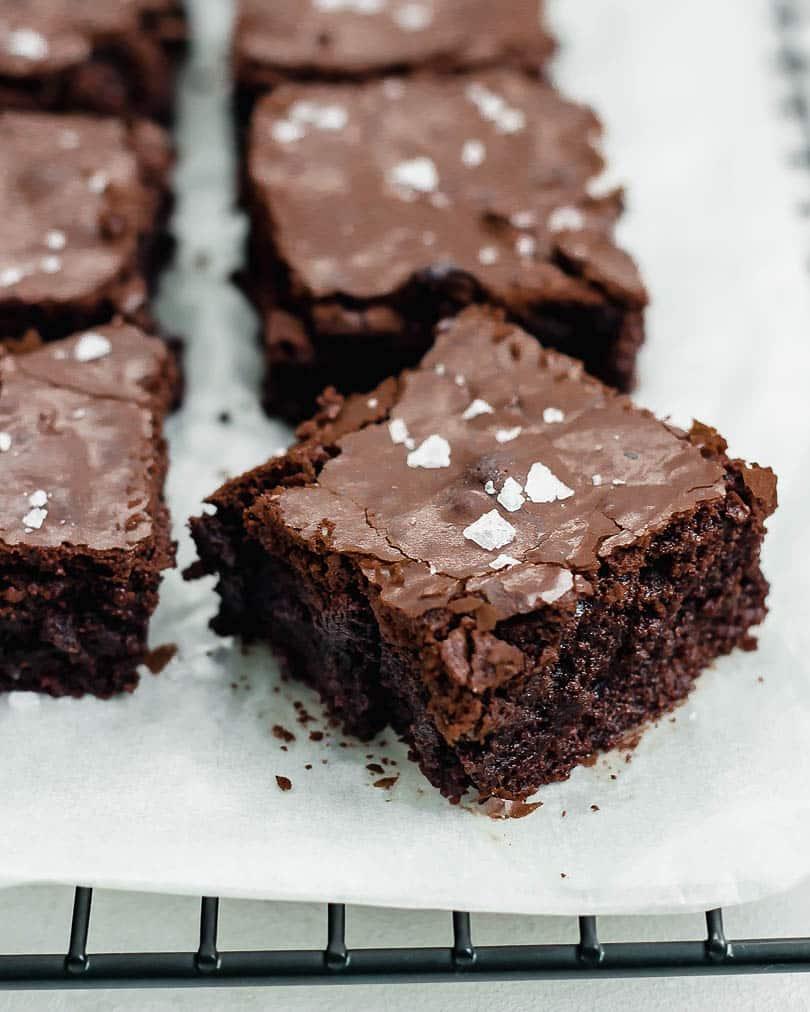 Brownies Nahaufnahme