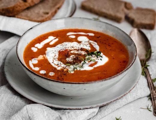 Ungarische Bohnensuppe Titelbild